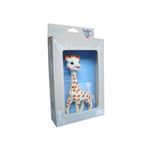 Sophie the Giraffe Natural Teether by Vulli