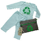 Organic Baby Green Outfit Kit - Recycle